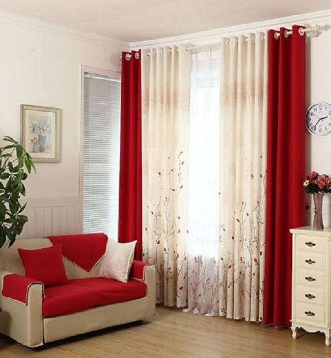 15 Mẫu rèm cửa phòng khách chung cư đẹp, lạ theo 10 phong cách ấn tượng
