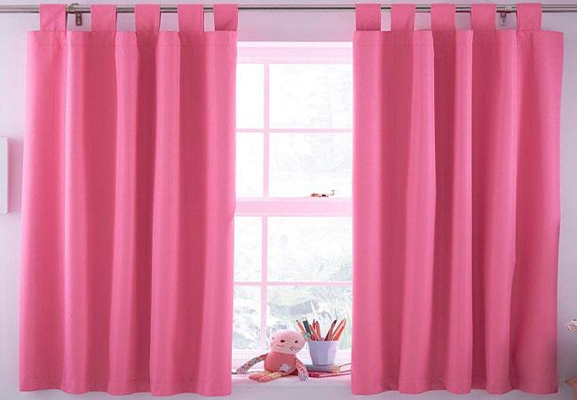 10 mẫu rèm cửa phòng ngủ màu hồng đẹp không thể rời mắt