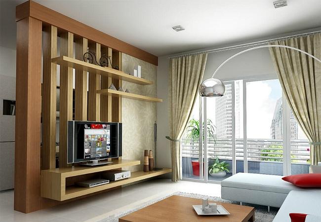 13 mẫu vách ngăn đẹp giữa phòng khách và bếp cho không gian sống hoàn mỹ