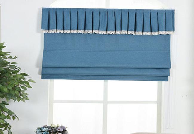 Top 10 mẫu rèm cửa màu xanh dương đẹp không thể rời mắt!