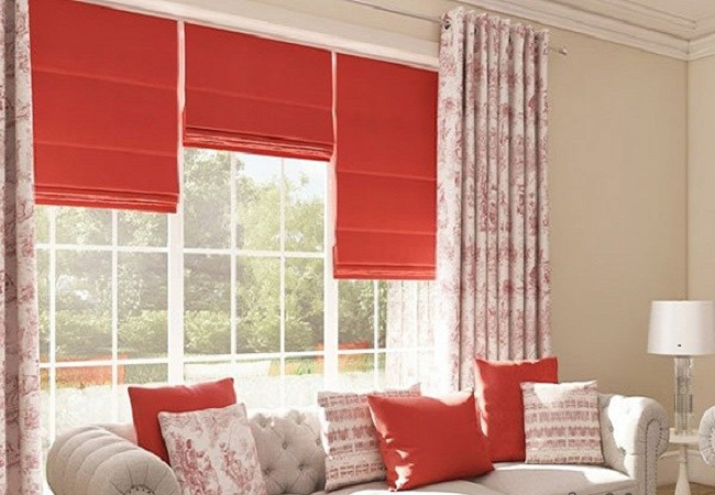 10 Mẫu rèm cửa sổ màu đỏ gây thương nhớ cho những ai yêu gam màu nóng!