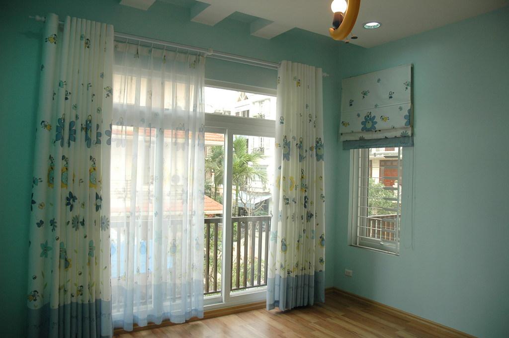 13 Mẫu rèm cửa 2 lớp đẹp với voan trắng cho không gian sống hiện đại